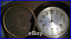 SETH THOMAS Mantel Clock No. 124 Westminster Chimes 8 Day Antique Mantle Chime 92