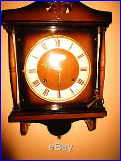 SETH THOMAS TALLEY 1302 Westminster chime mantle clock 8 day + Howard Miller 67