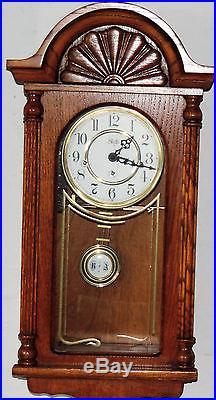 Sligh 8 Day Westminster Chime Wall Clock Regulator Working Holland Mich U. S. A