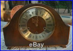SMITHS. Dual chime loudspeakermantel clock. Westminster/Whittington. SEE VIDEO