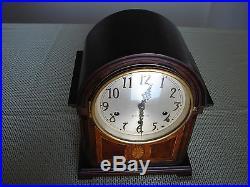 SUPERB Antique SETH THOMAS Shelf Mantle Clock Mahogany Case Westminster Chime