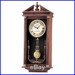 Seiko QXH107B Westminster/Whittington Dual Chime Wall Clock with Pendulam