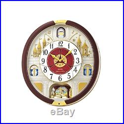 Seiko Special Collector's Edition One of 24 Melodies In Motion Music Wall Clock