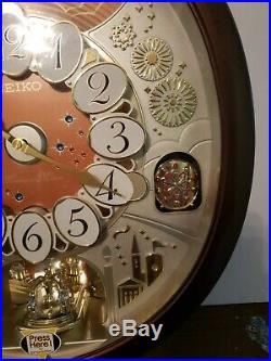 Seiko Special Edition Melodies In Motion Clock 25 Melodies Swavorski