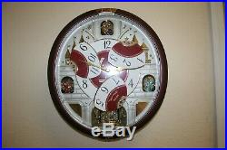 Seiko Special Edition in Motion Clock with 24 Melodies including the Beatles