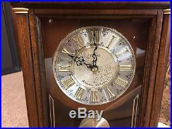 Seiko wooden matel clock Westminster & Wittington chime pendulum