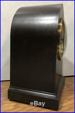 Seth Thomas 4 Rod Sonora Westminster Chime Mantle Table Bracket Clock