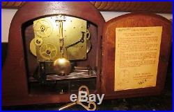 Seth Thomas 8-day Key Wound Woodbury Mantel Clock Westminster Chime Movement