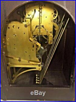 Seth Thomas Beehive Clock Westminster Chimes Runs and Strikes 4 Rod Strike