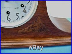 Seth Thomas Chime 52 Art Deco Style Westminster Chime Mantel Clock 8-day