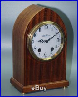 Seth Thomas Chime Wood Mantle Gothic Clock Beehive Westminster