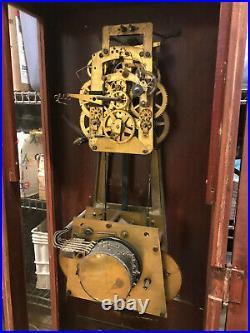 Seth Thomas Electric Self Winding Regulator Clock w Westminster Bell Movement