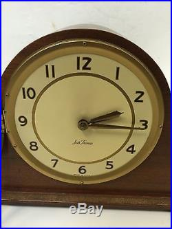 Seth Thomas Electric clock, westminster chimes, made In USA Original Condition