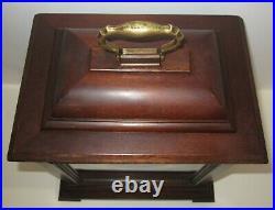 Seth Thomas Legacy 3W Quarter Hour Westminster Chime Bracket Clock 8-day