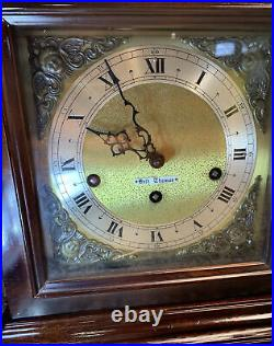 Seth Thomas Legacy 3w Westminster Chime Carriage 8 Day Wind Up Clock Beautiful