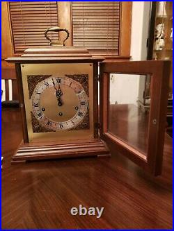 Seth Thomas Legacy Mantle Clock 1314 A Westminster Chime West German Movement