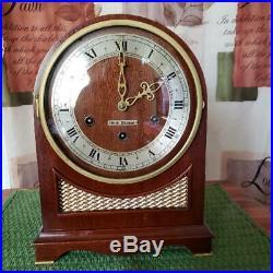 Seth Thomas Mahogany Northbury Westminster Chime Mantle Clock