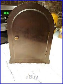 Seth Thomas Mahogany Westminster 8-day Chime Mantle Table Clock