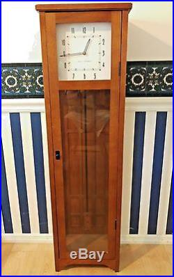 Seth Thomas Manchester Westminster Chimes Large Pendulum Floor/Wall Clock