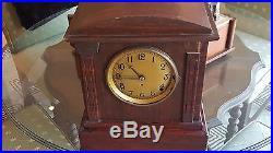 Seth Thomas No. 5 Sonora Chime Adamantine Mantel Clock 4 Bell Westminster