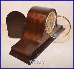 Seth Thomas Restored Chime No. 60 1936 Antique Westminster Clock In Mahogany