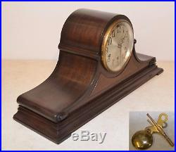 Seth Thomas Restored Grand Chime 99 1928 Antique Westminster Clock In Mahog