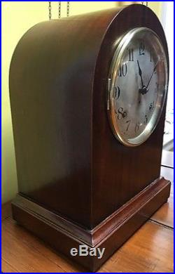 Seth Thomas Sonora 1/4 Hr Westminster Chime Mantle Shelf Table Clock NICE