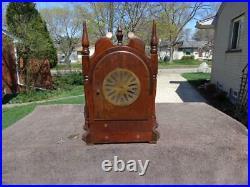 Seth Thomas Sonora 4 Bell Original Westminster Chime Shelf Mantle Clock Runs VGC