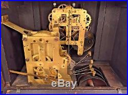 Seth Thomas Sonora 4 Bell Westminster Chimes Clock Running 89M & 90 Mvmts