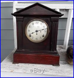 Seth Thomas Sonora Chime #5 Westminster 4 Bells Chime Mantle Clock