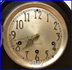Seth Thomas Tambour Chime Mantel Clock No. 92 Westminster 124 Movement