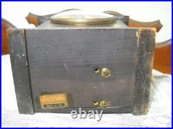 Seth Thomas Two Tone No. 96 Chime Clock 8 Day Time & Westminster Strike Working