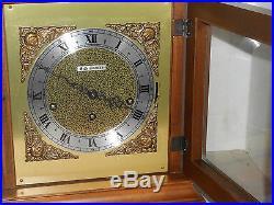 Seth Thomas U. S. A. Westminster Chime 8 Day Bracket Clock Working Model 1309