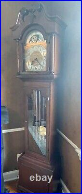 Seth Thomas Vintage Weight-Driven Westminster Chime Grandfather Clock