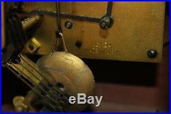 Seth Thomas Westminster Chime Mantel Clock Kenbury-1W Vintage E705003 wooden