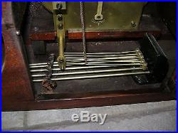 Seth Thomas Westminster Chime Mantle Clock-Chime # 74 With 113 Movement