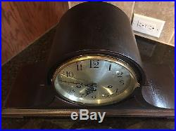 Seth Thomas Westminster Chime Mantle Clock-Chime # 74 With Rebuilt 113 Movement