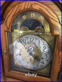 Sligh 907-1-AB Mechanical Grandfather Clock Excellent Condition 1995