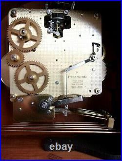 Sligh Barrister Mantel Clock Westminster Chime Franz Hermle Movement #340-020