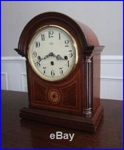 Sligh Barrister Mantel Clock Westminster Chime Franz Hermle Movement with key