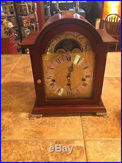 Sligh Carriage Clock Moon Phase And Westminster Chimes Fully Serviced