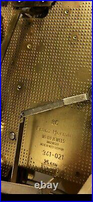 Sligh Chime Wall Clock Franz Hermle Movement made in W. Germany Keeps Exc. Time