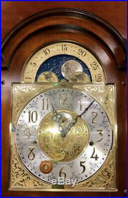 Sligh Grandfather Clock WithHermle Triple Chime Big Ben Westminster