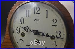 Sligh Mantle Clock Franz Hermle Made in Germany Westminster Chime