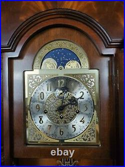Sligh'Montgomery' Triple Chime Wall Clock Hermle 502-8691 Movement Beautiful