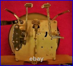 Sligh Wall Clock 8 Hammers Westminster Cathedral Chimes