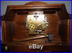 Sligh Westminster Chime Mantle Clock 0568-1-AB