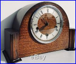 Smiths Enfield Westminster Chiming Mantle Clock