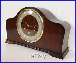 Smiths Walnut Westminster Whittington Chiming Mantle Clock