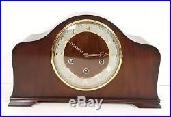 Smiths Walnut Westminster Whittington Chiming Mantle Clock